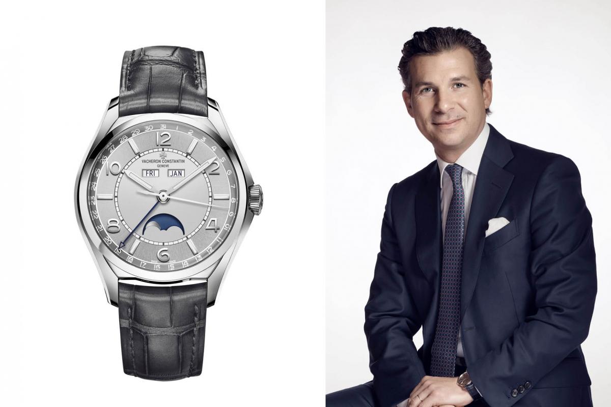 New traditions with Vacheron Constantin CEO Louis Ferla