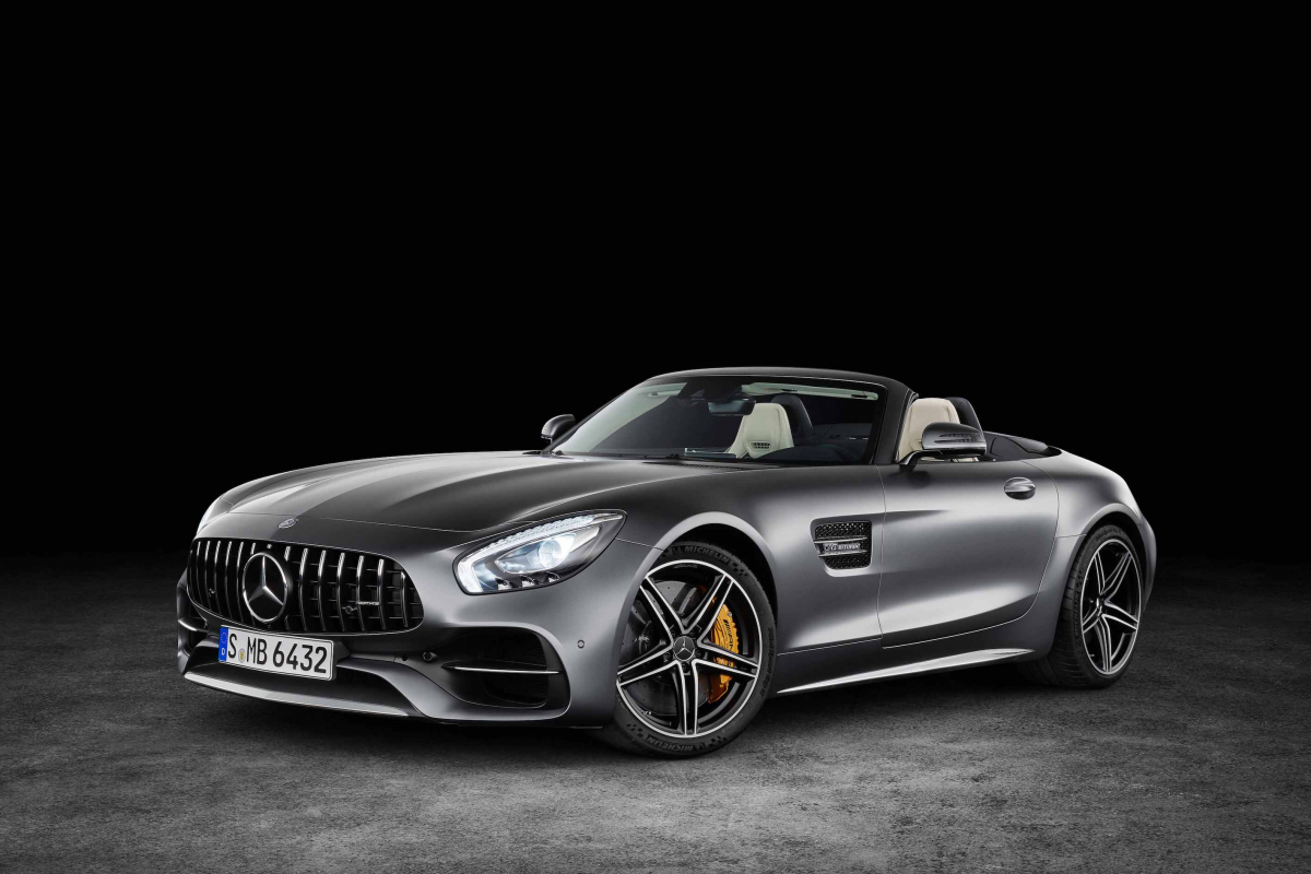 Mercedes-AMG GT C: Love at First Drive