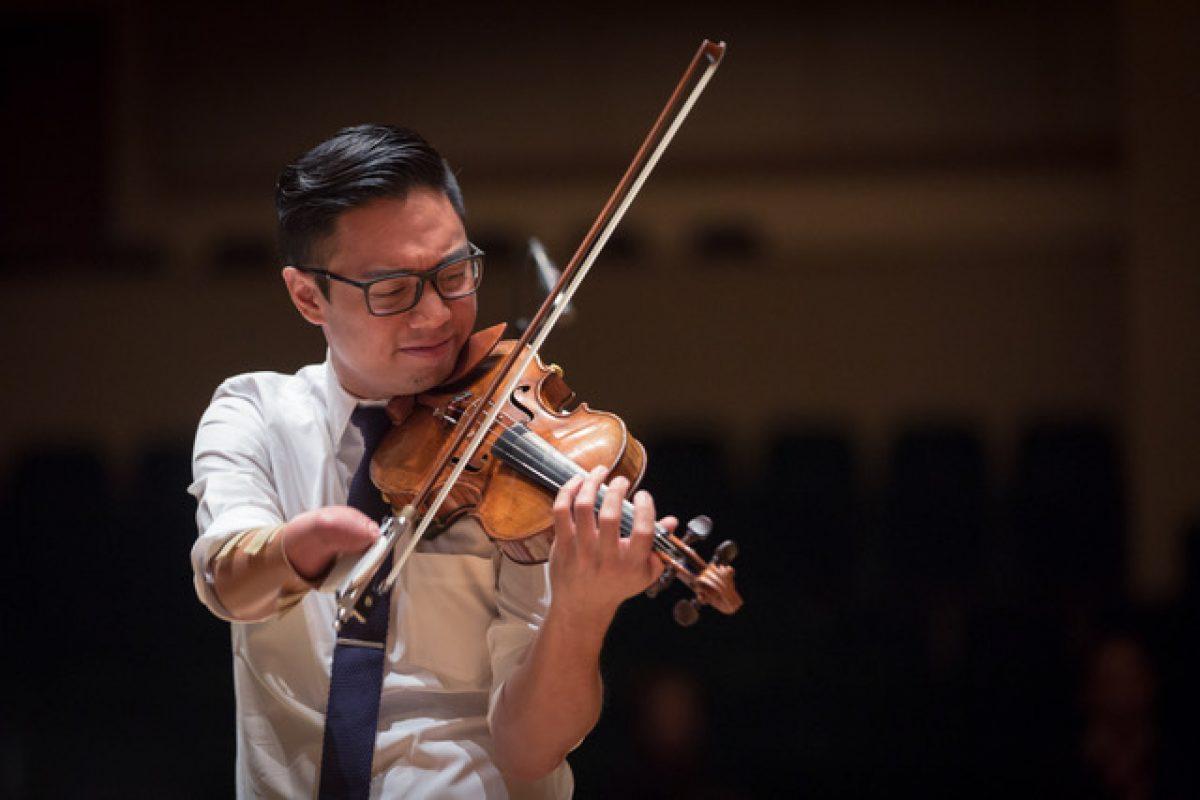 Meet Adrian Anantawan, Canada's One-Armed Violinist