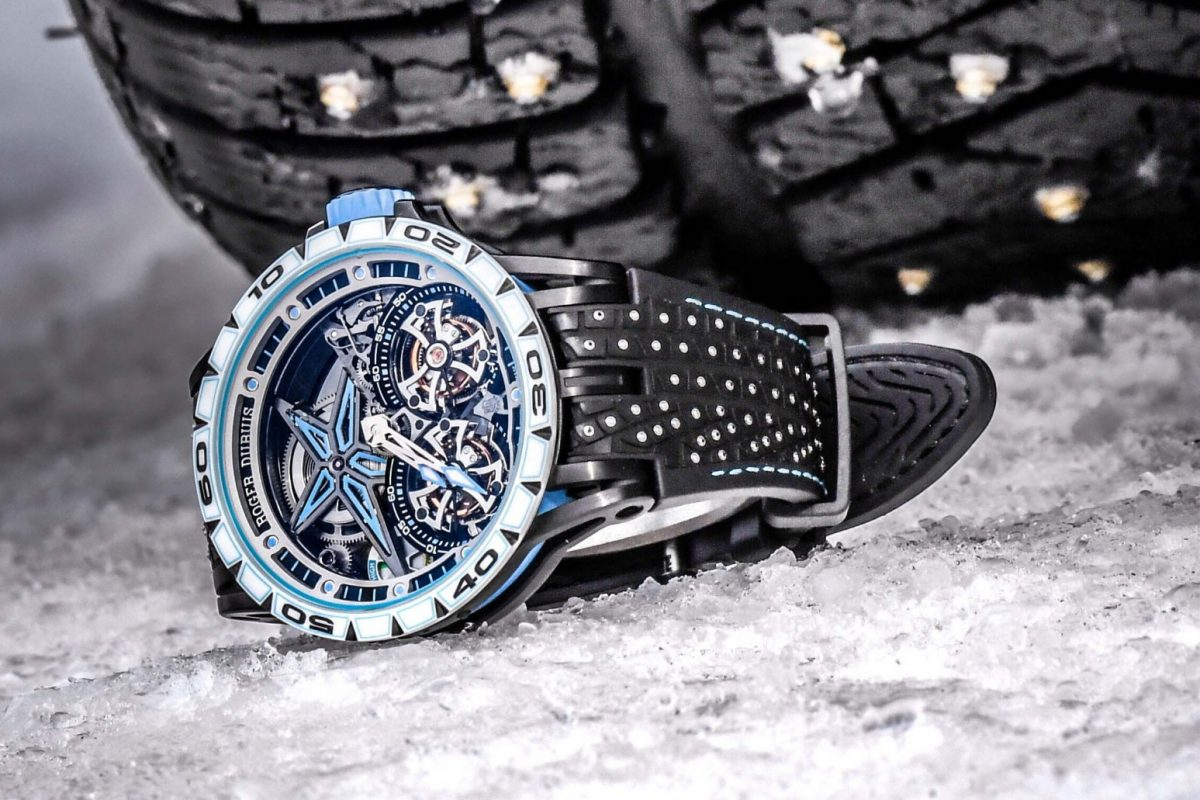 Roger Dubuis Sets Hearts Racing With New Excalibur Spider Pirelli Sottozero