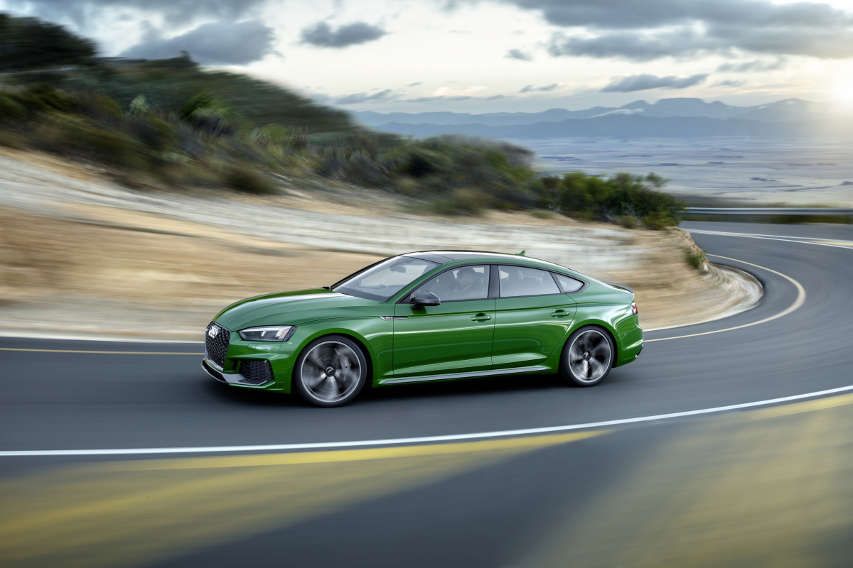 Audi RS5 Sportback: For Go-Fast Families