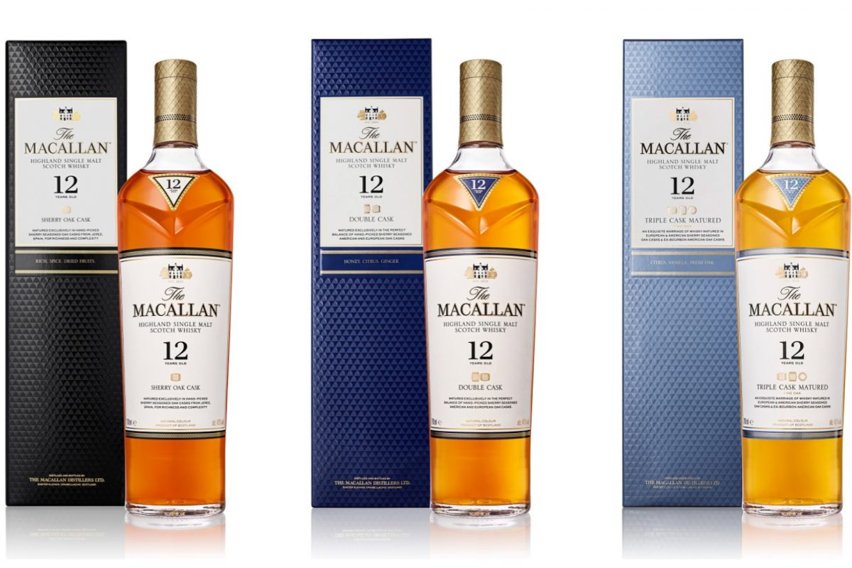 The Macallan launches new bottle design