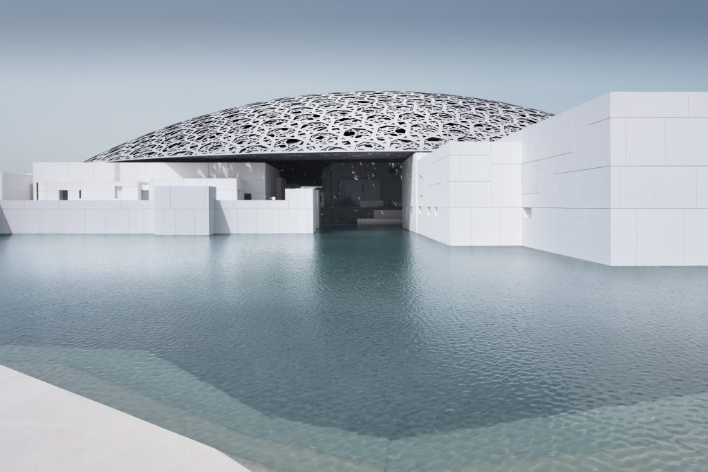Jean Nouvel's The Louvre, Abu Dhabi, UAE
