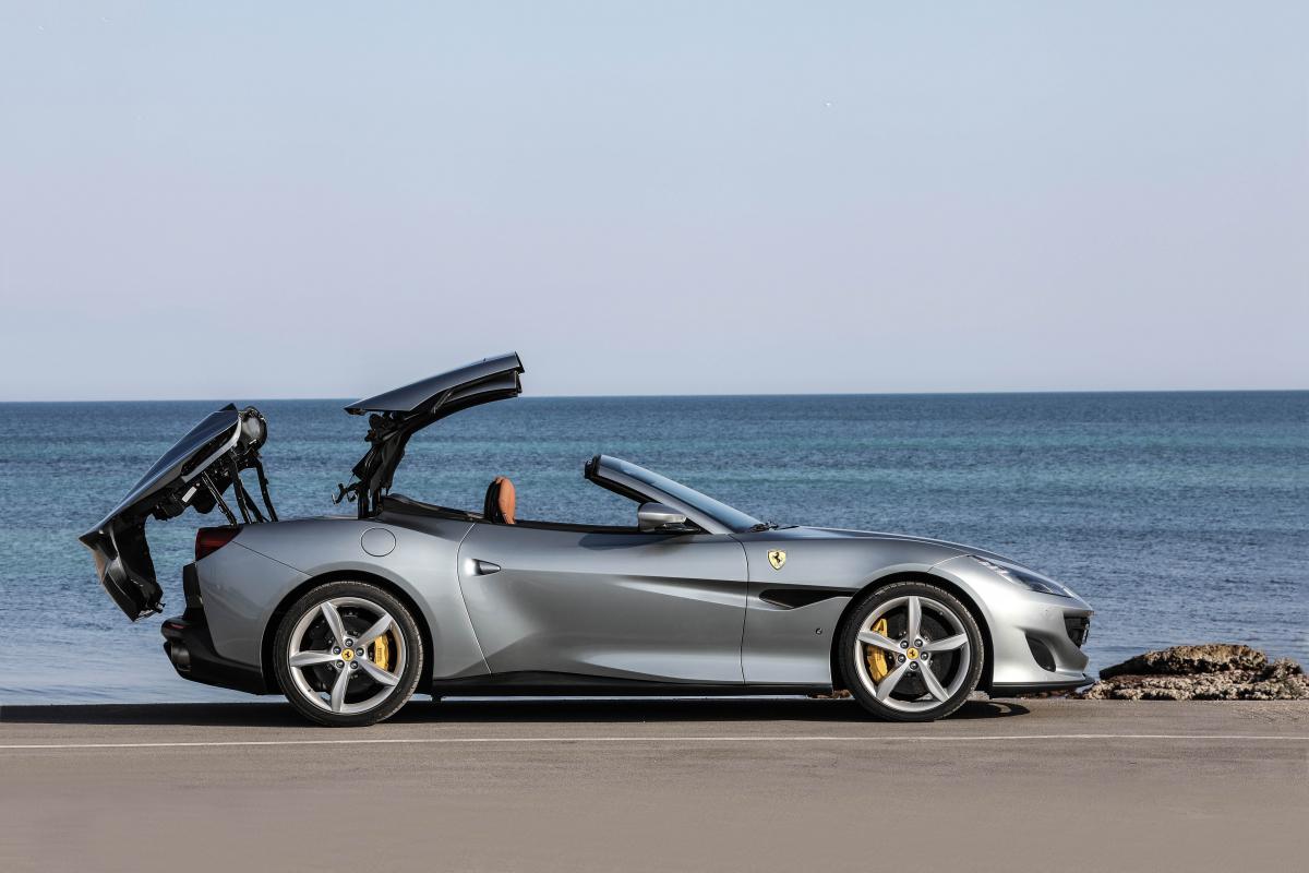 Prestige Drives The New Ferrari Portofino In Puglia