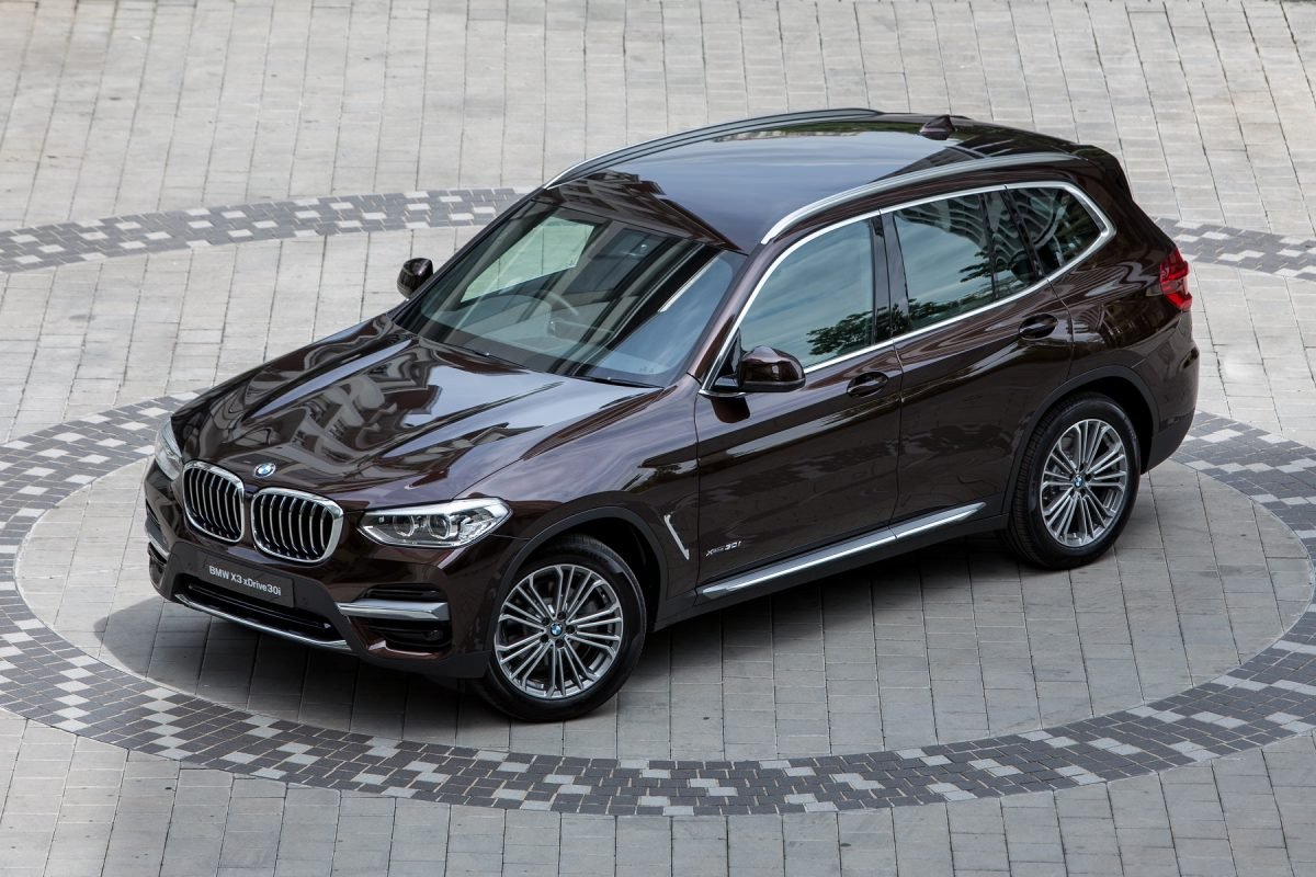 The 3rd-Gen BMW X3 Rolls Into Town