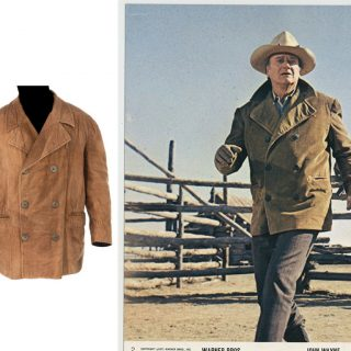 "John Wayne ""Will Anderson"" coat from The Cowboys (1972)"