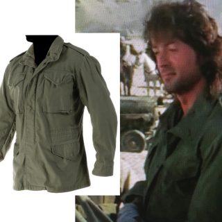 "Sylvester Stallone ""Rambo"" jacket from Rambo III (1988)"