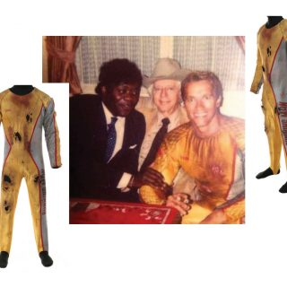 "Arnold Schwarzenegger ""Ben Richards"" jumpsuit from Running Man (1987)"