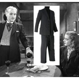 """Charlie Chaplin """"Verdoux"""" suit from Monsieur Verdoux (1947)"""