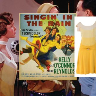 "Debbie Reynolds ""Kathy Selden"" dress from Singin' in the Rain (1952)"