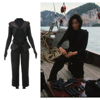 "Michelle Yeoh ""Wai Lin"" costume from Tomorrow Never Dies (1997 James Bond film)"