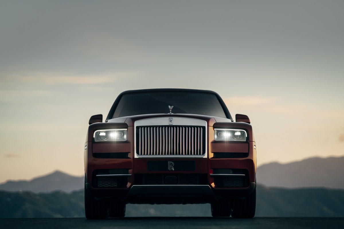 The Rolls-Royce Cullinan SUV makes its worldwide debut