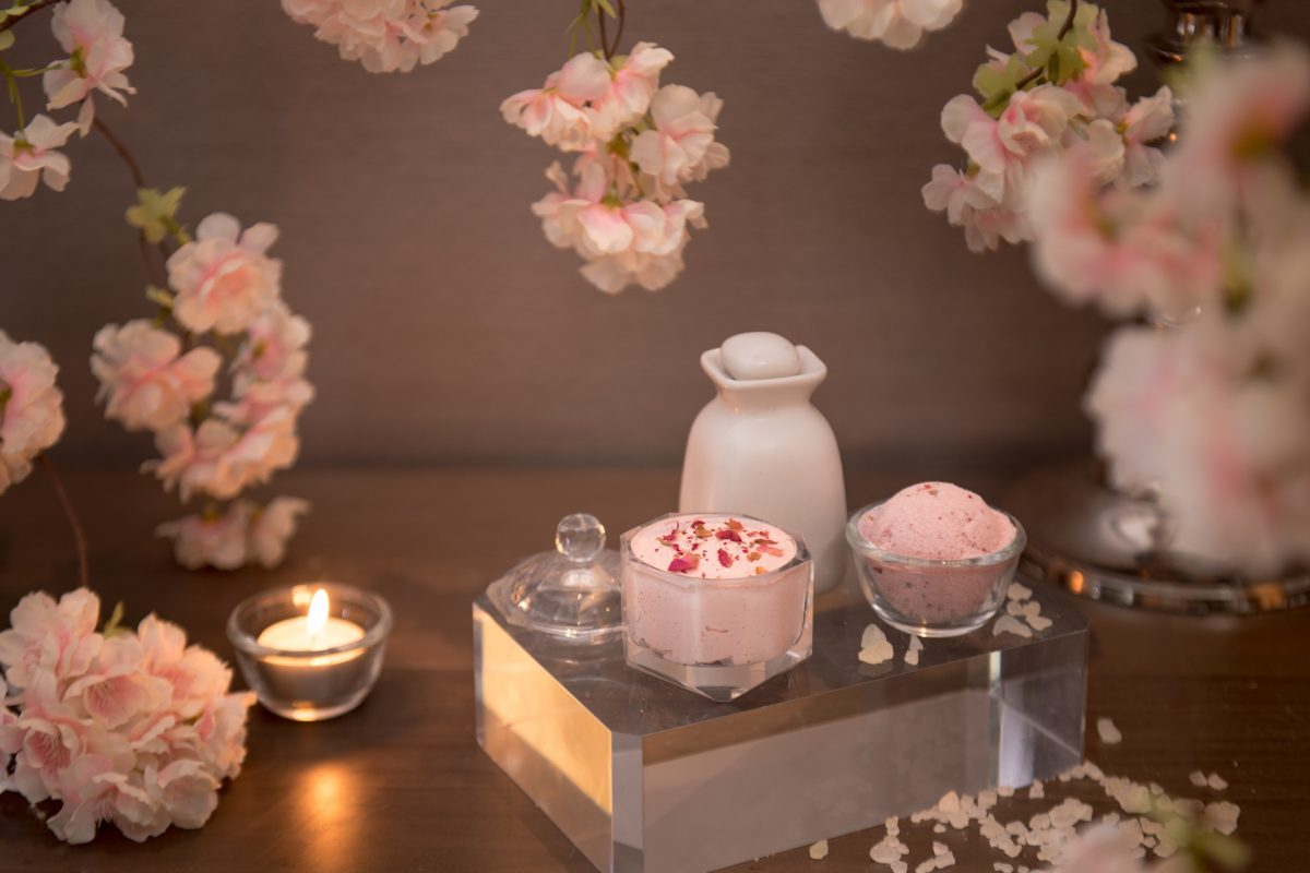 Amethyst and Cherry Blossoms at The Okura Prestige Bangkok