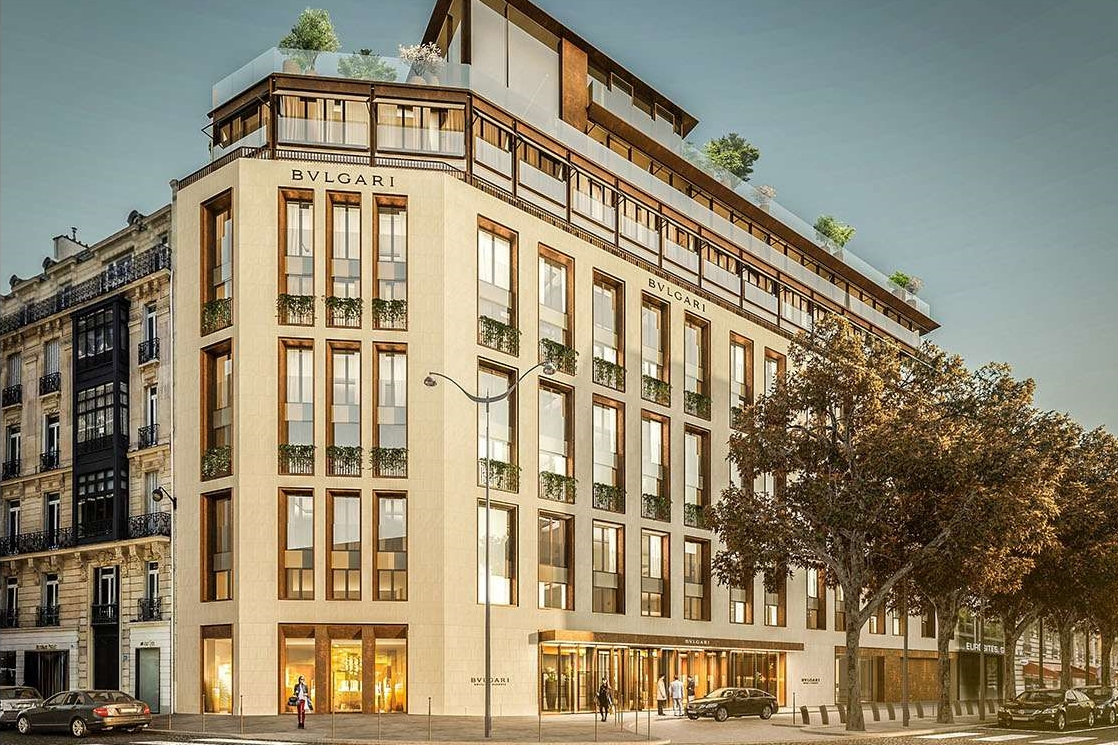 new bulgari hotels - The Bvlgari Hotel Paris