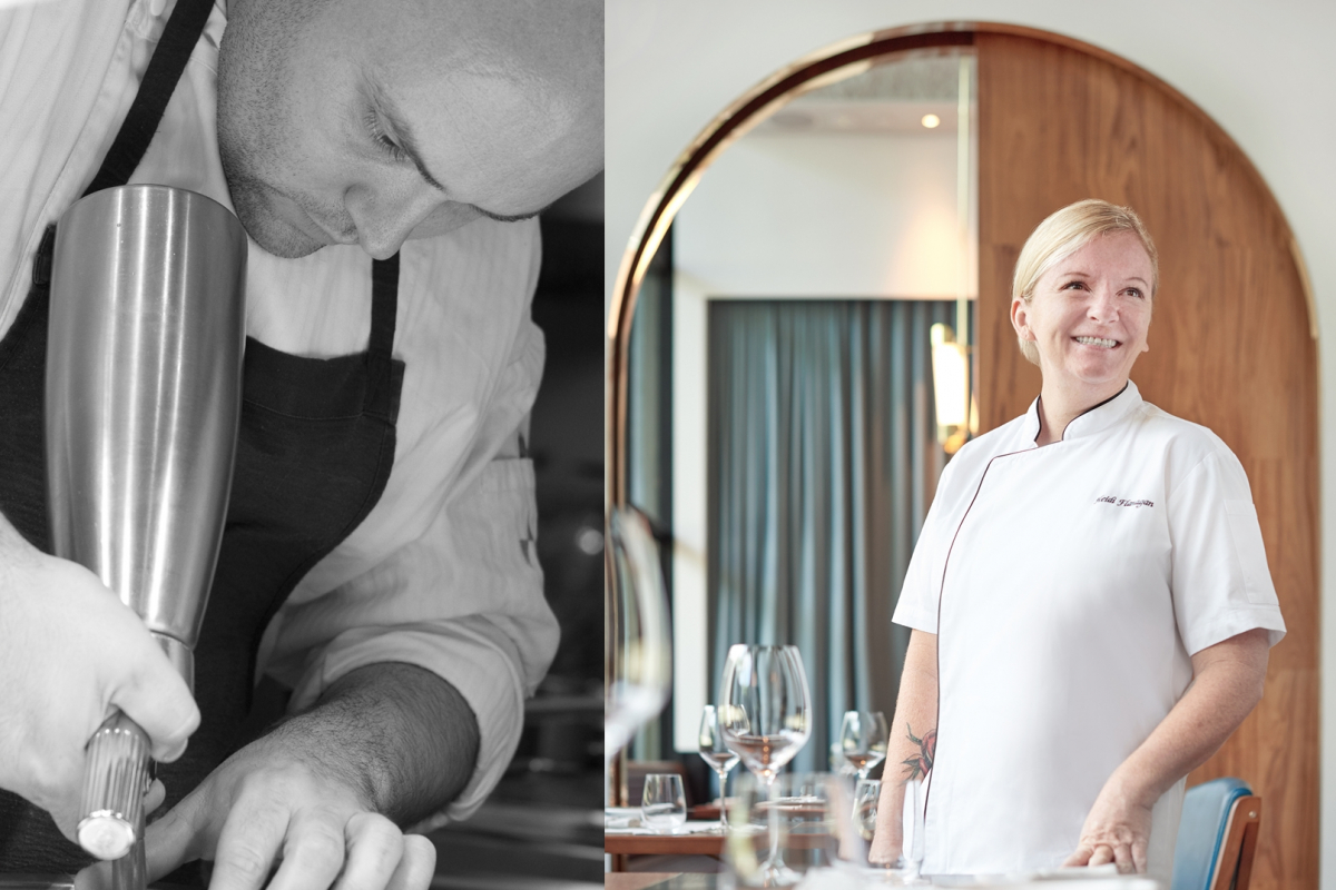 The 3 Masters Behind Origin Grill's Four-Hands Champagne-Pairing Dinner