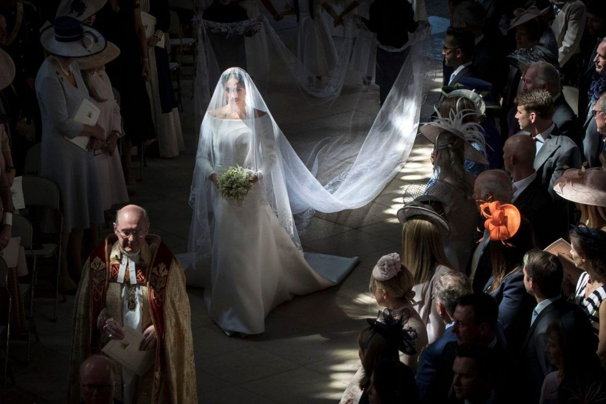 Meghan Markle's Wedding Veil Includes A Touch Of Singapore
