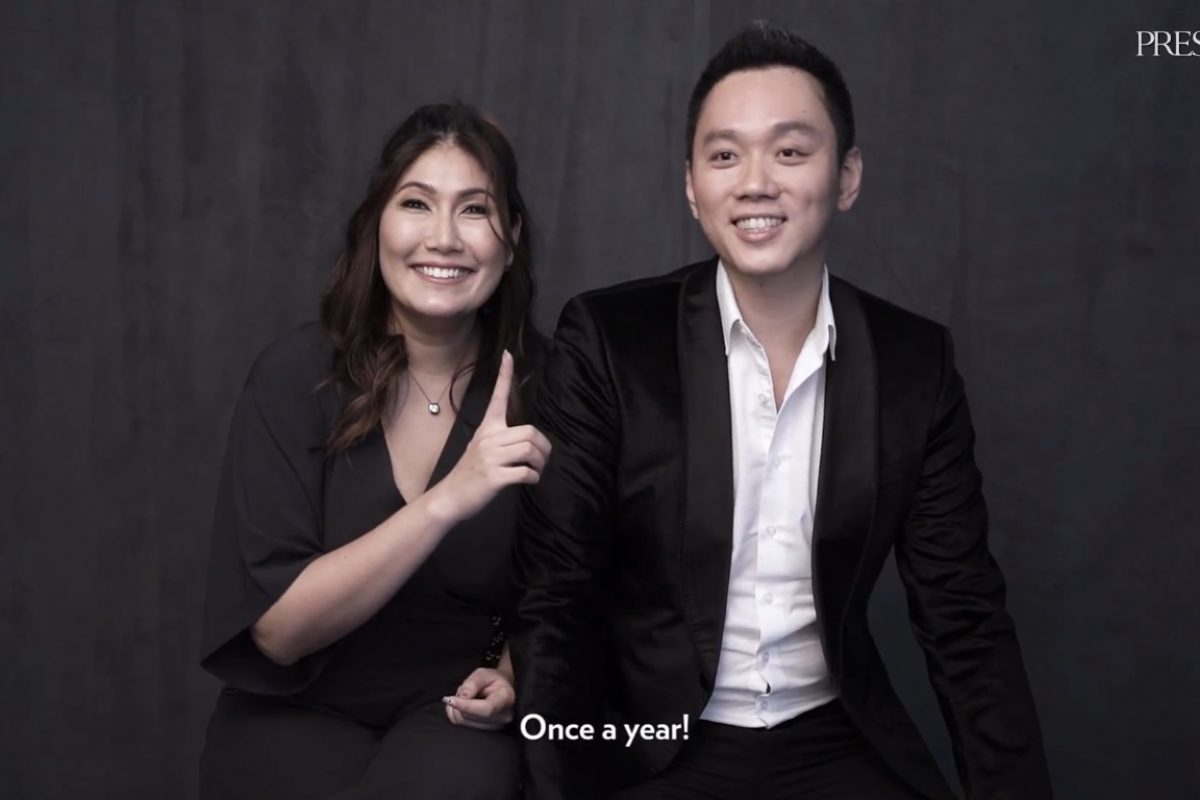 VIDEO: Find Out What Vernon Tan Does For Wife Sara-Ann Only Once A Year