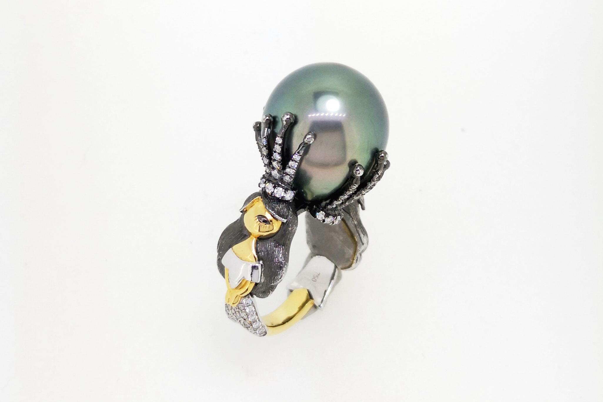 Confetti by Mui delfi orchard pearl ring