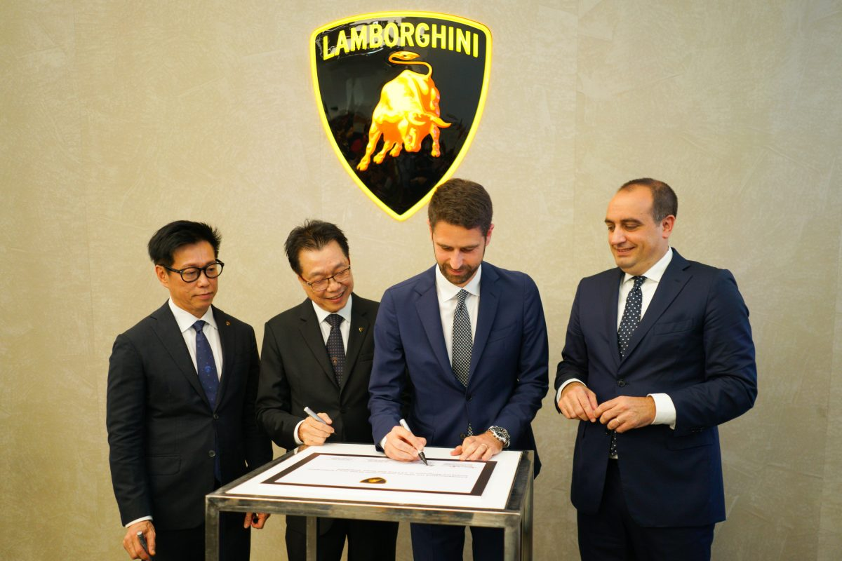 Lamborghini Relocates Showroom To Singapore's Prime Auto Retail Belt