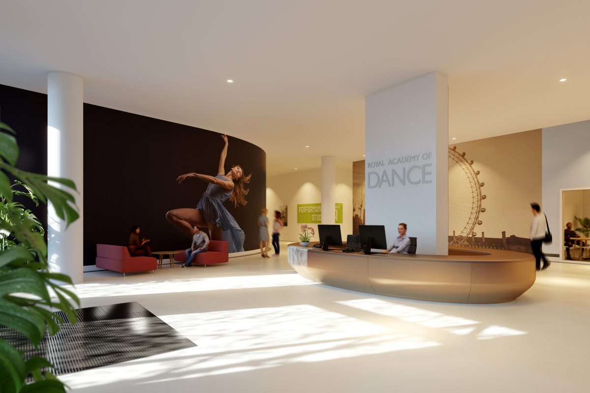 Discover the Royal Academy of Dance's New Home in Battersea