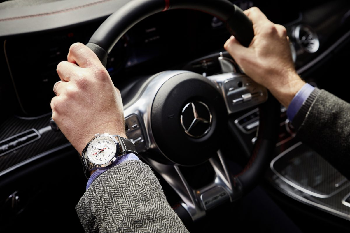 IWC's CEO takes the driver's seat of the new Mercedes-AMG