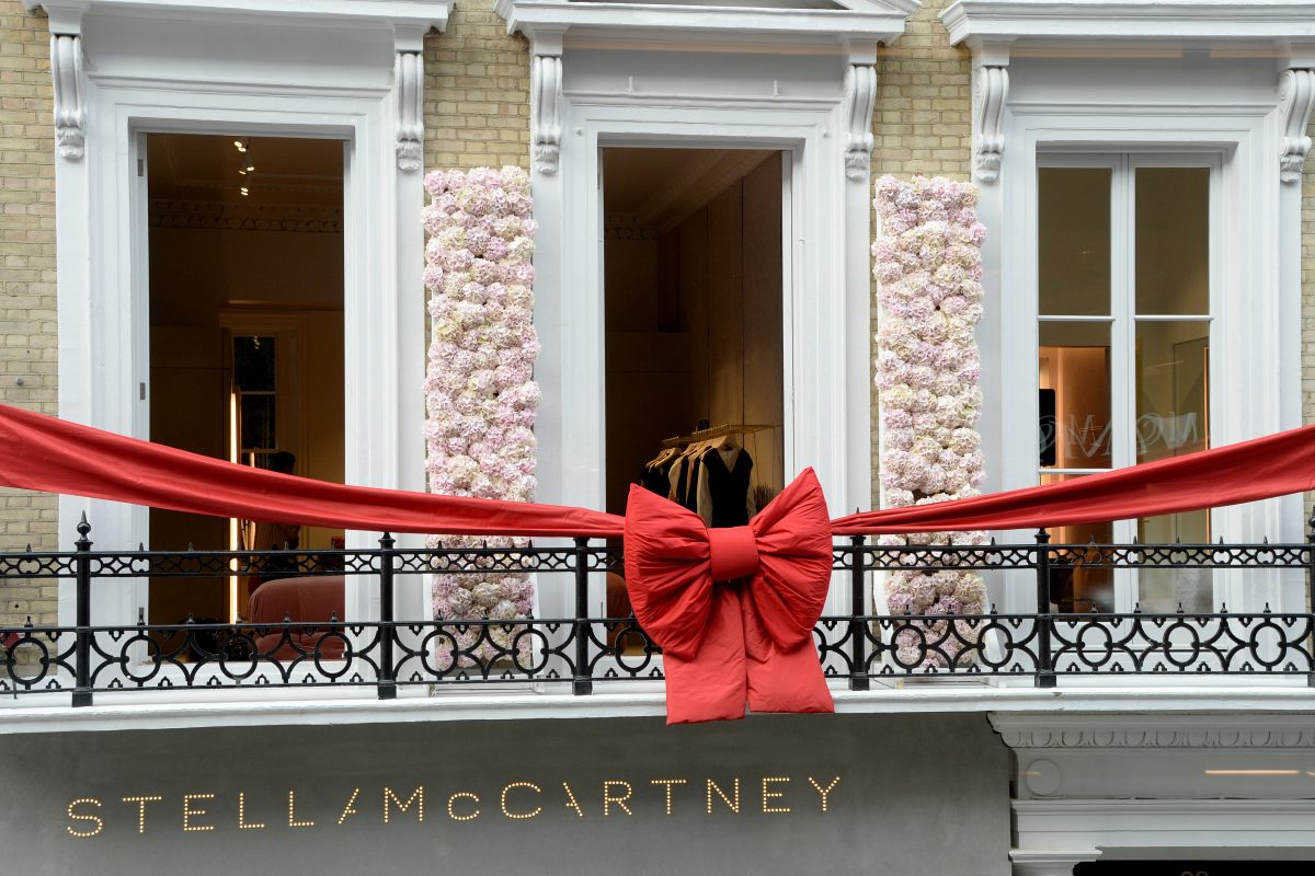 Stella McCartney Cuts The Ribbon For New Store