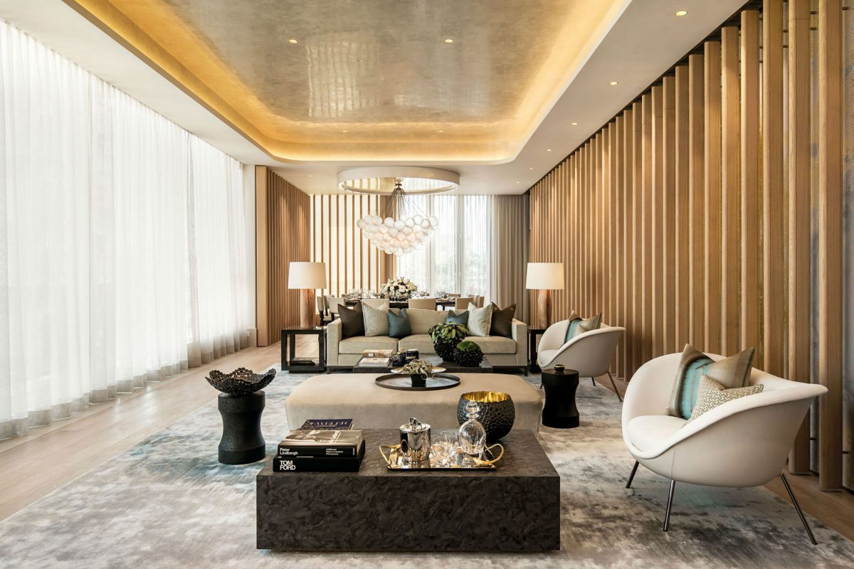 Inside The Palatial Penthouse Of The Morgan Hong Kong