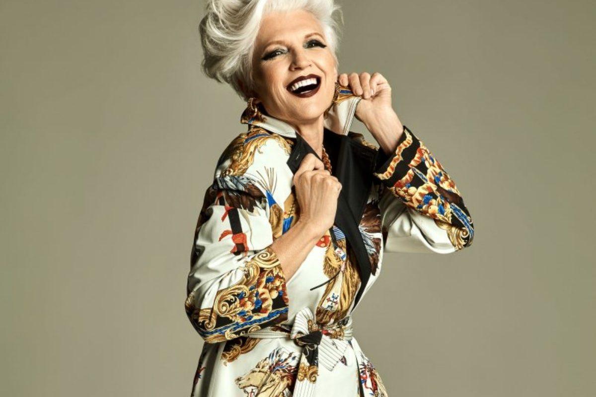 銀髮超模:梅伊馬斯克