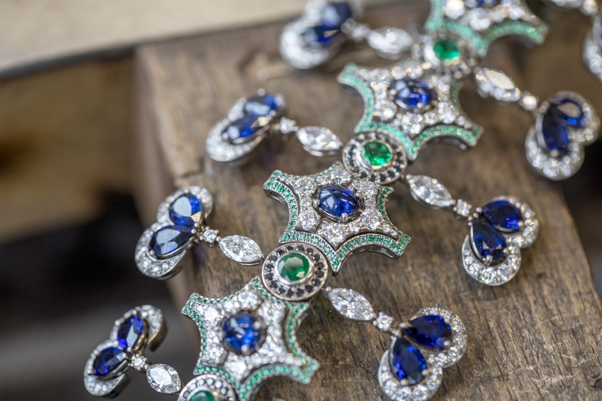 Behind the Scenes of the Chopard Red Carpet Collection 2018