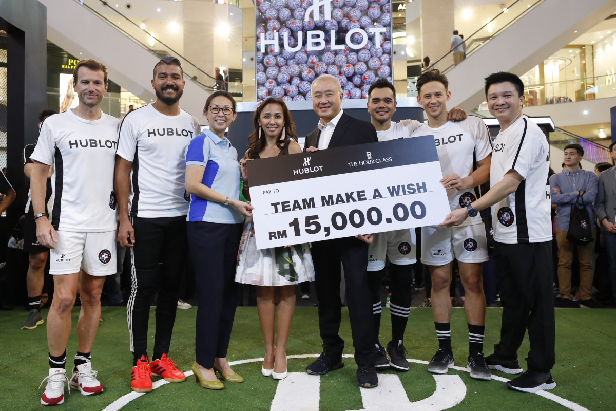 Hublot Scores Big With 'Match Of Friendship' Event