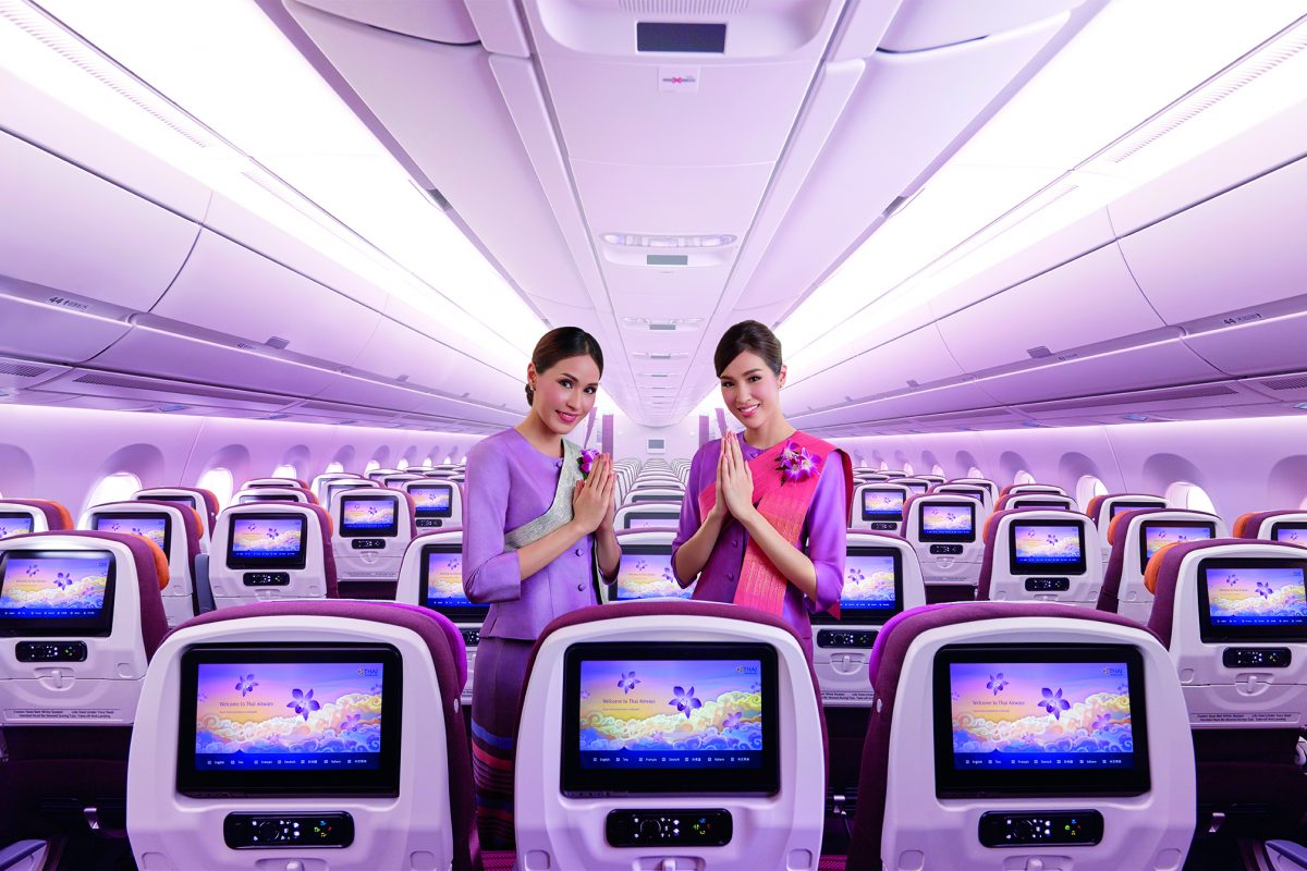 Thai Airways, Connecting You to the World Live