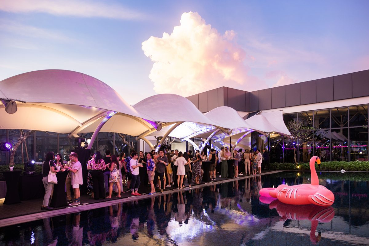 W Kuala Lumpur Threw an Exclusive Pool Party at Babel Fit