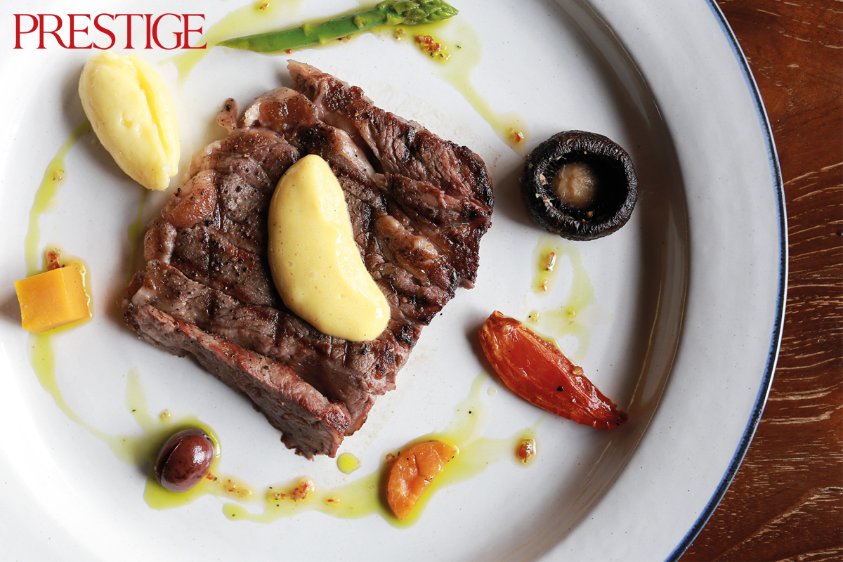 Roosevelt: De La House's First Steakhouse Specialising in Wood-fired Grill Meat!