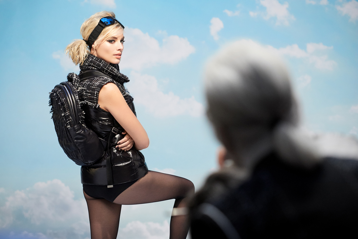 MARGOT ROBBIE AS THE FACE OF CHANEL'S FIRST COCO NEIGE COLLECTION