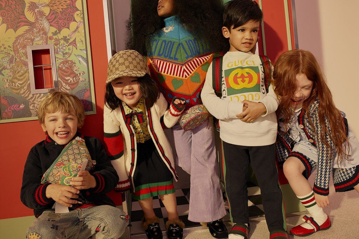 Net-A-Porter Launches Gucci Kidswear Pop-Up Store