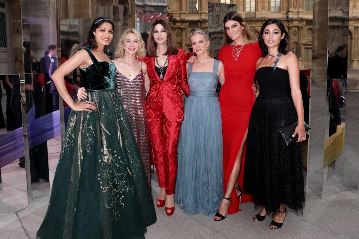 6 Colour-Pop Celebrities At The Cartier Coloratura Collection Launch In Paris