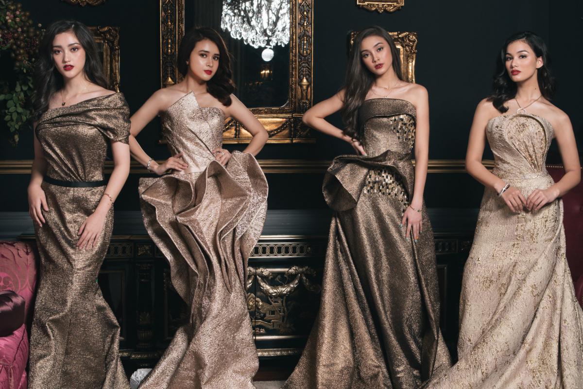 BTS: Mentari De Marelle, Michelle Ziudith, Ranty Maria, and Caitlin Halderman