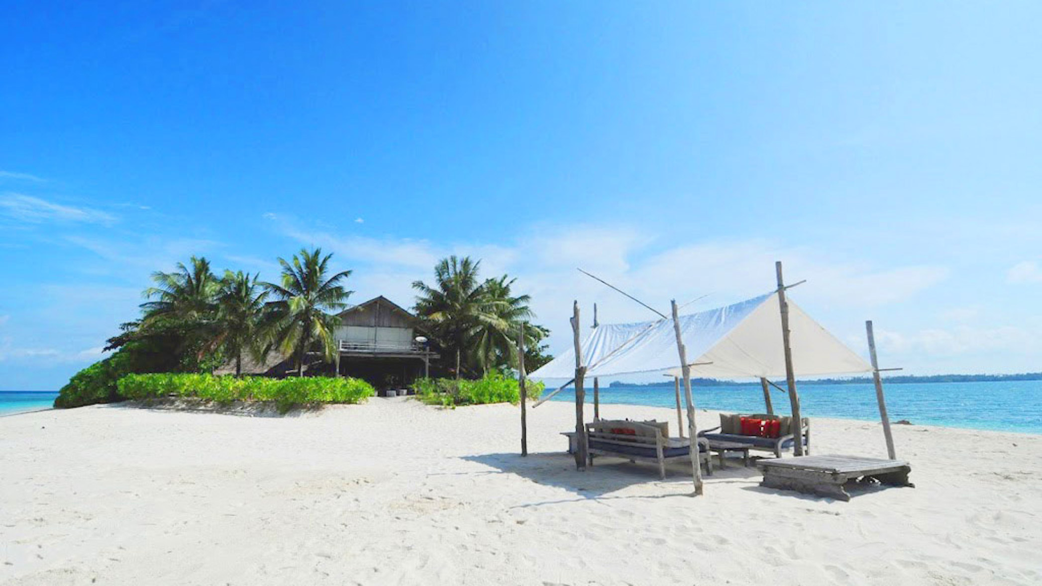 Private island for rent: Pulau Pangkil
