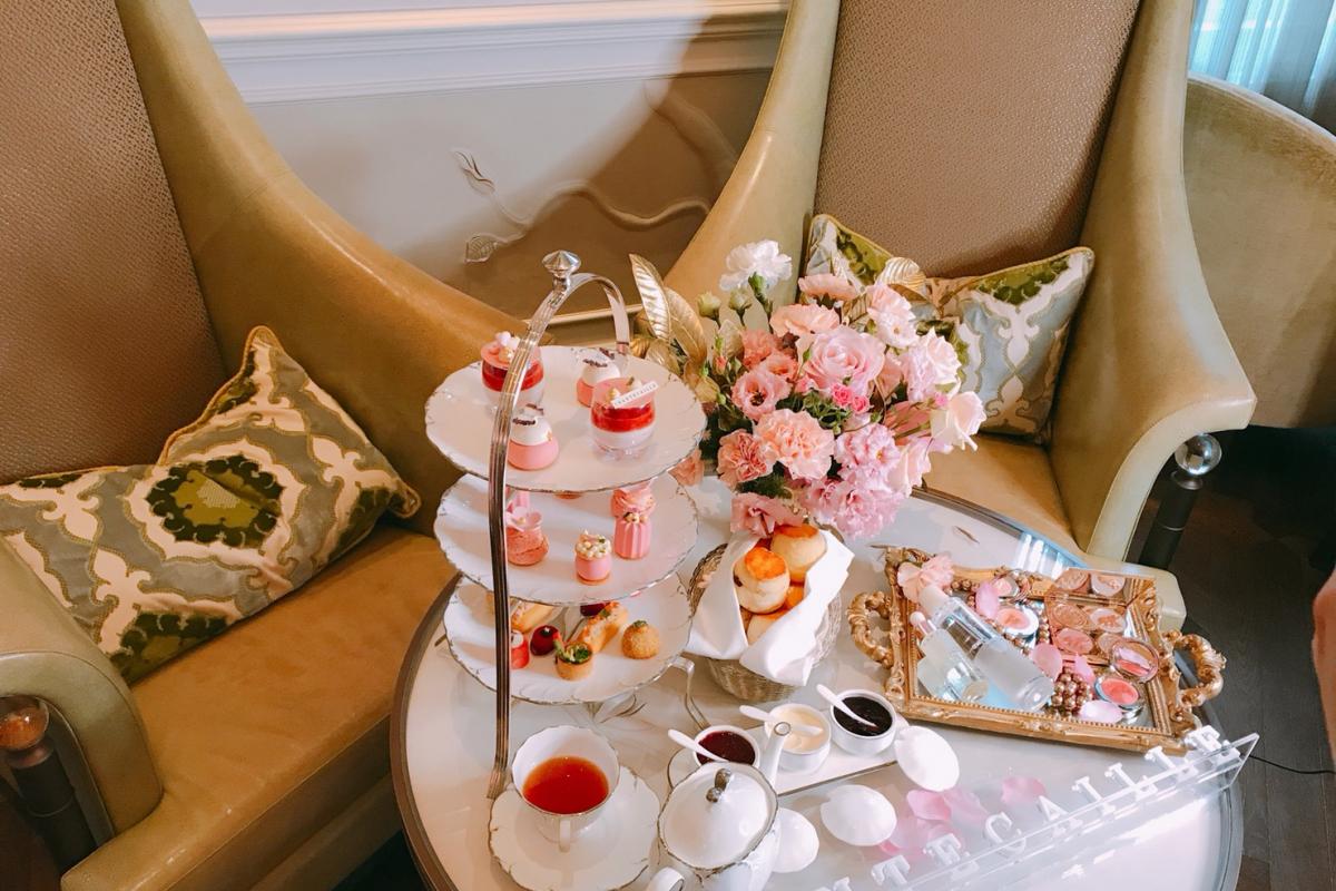 午茶,如此甜蜜美麗。