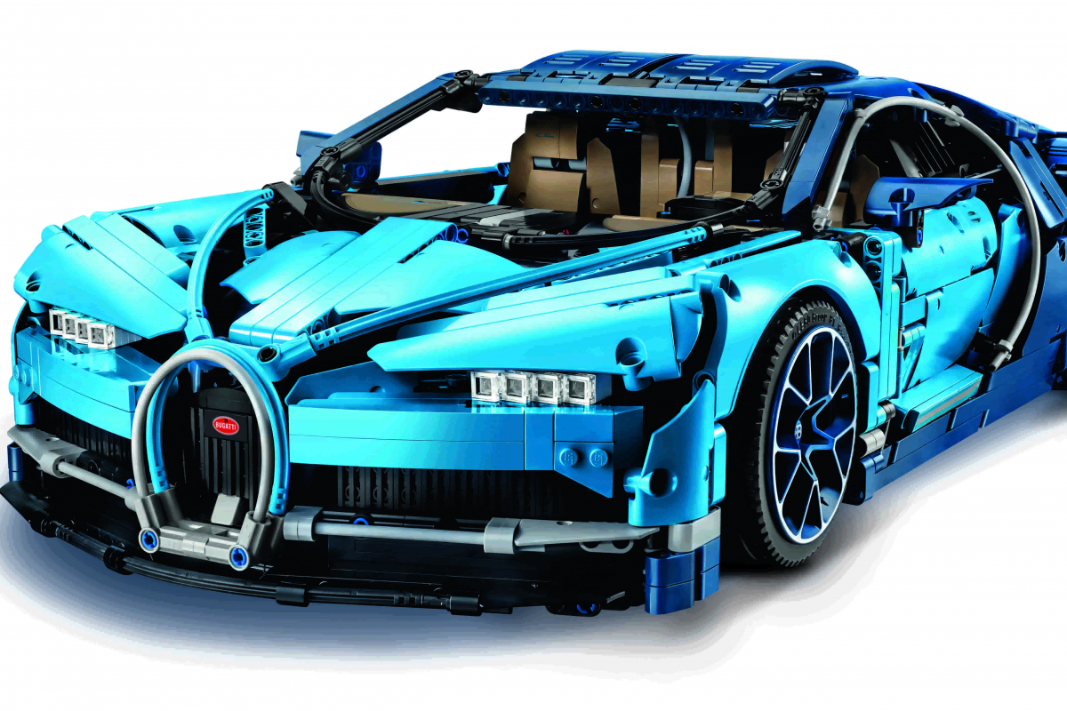 威風流線:LEGO Bugatti Chiron