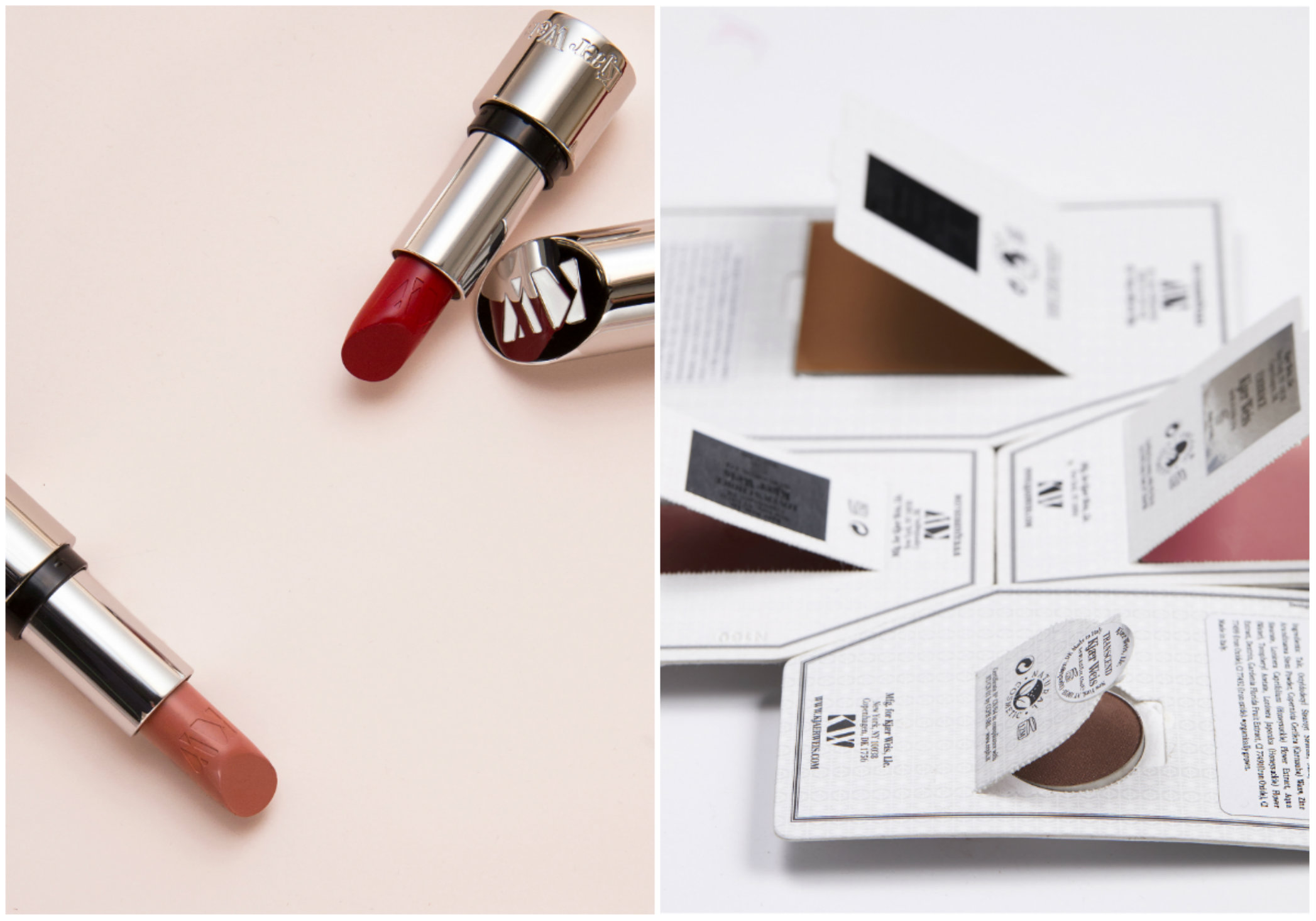 Sustainable beauty labels: Kjaer Weis)