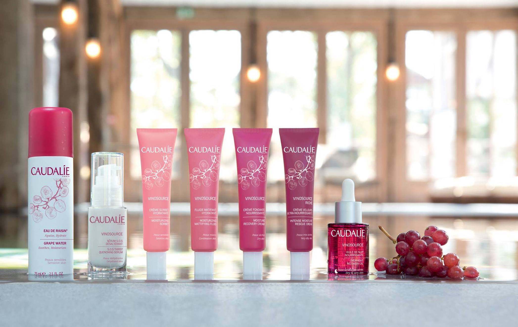Sustainable beauty labels: Caudalie