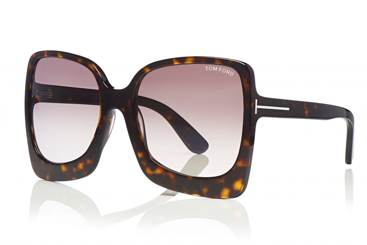 Channel Vintage With Tom Ford Eyewear