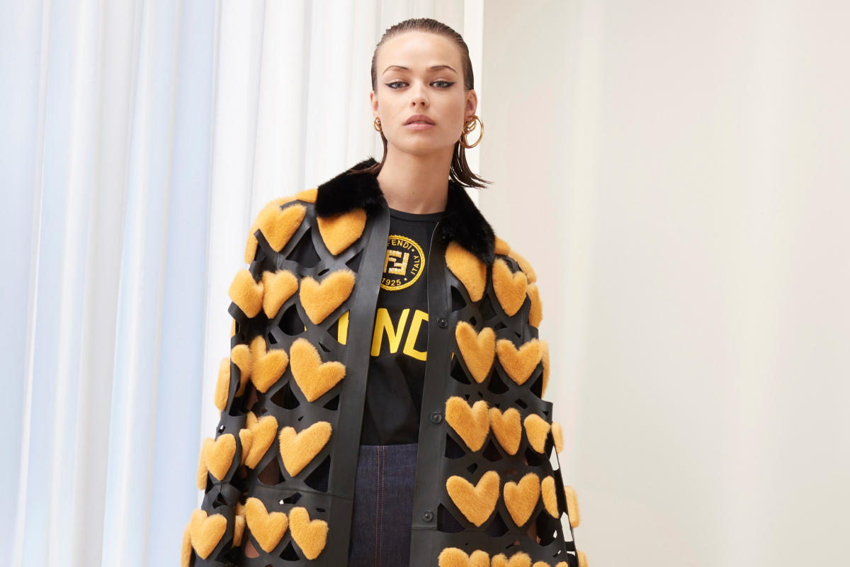A NEW WOMAN IN FENDI'S PRE-FALL 2018 COLLECTION