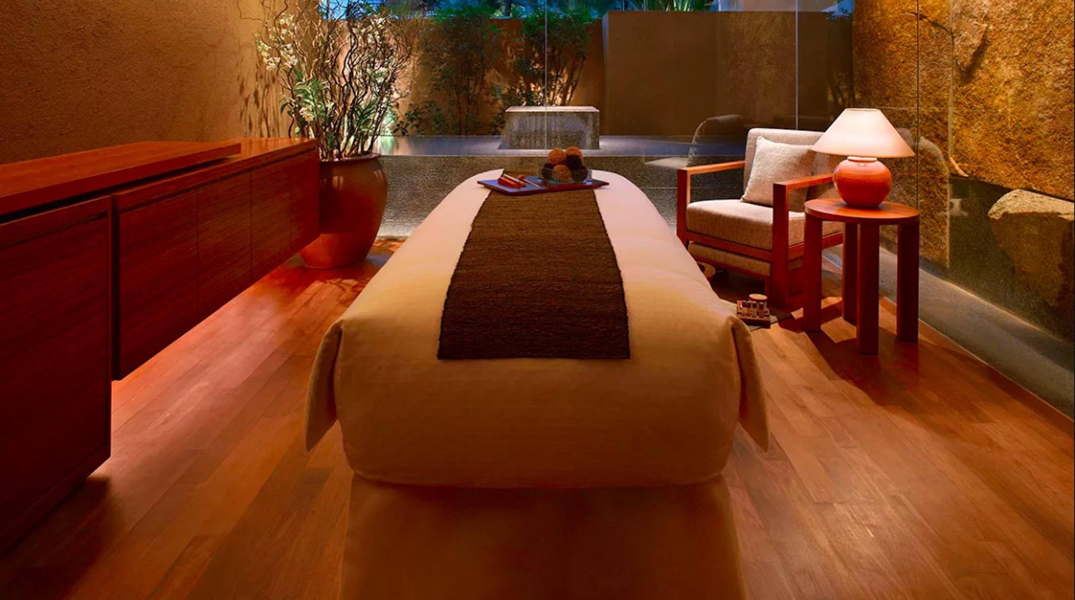 Luxury spas in Singapore: Damai Spa