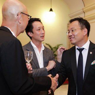 Cheong Keng Hooi, Wee Teng Wen and Mark Wee