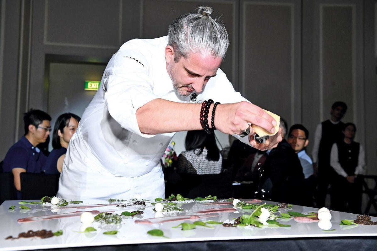 Event Photo Gallery: Dining In Technicolour With Yann Bernard Lejard
