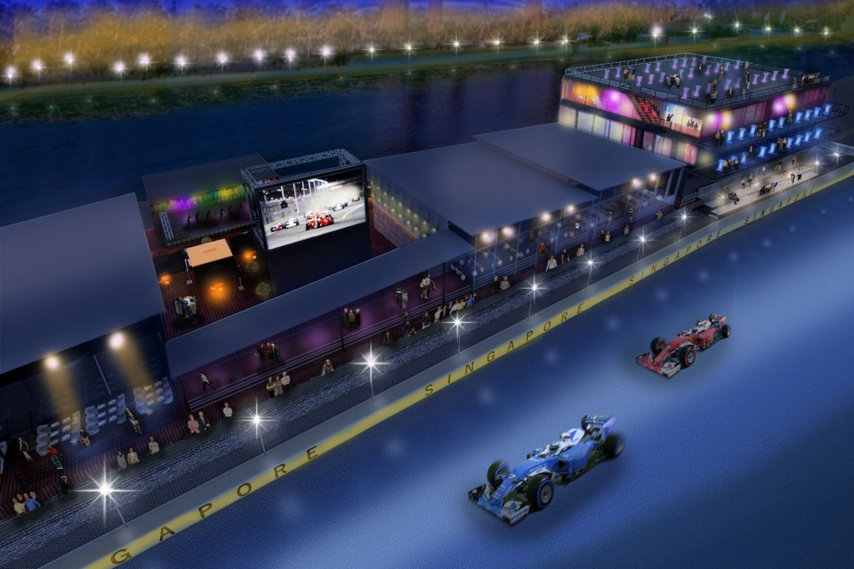The Singapore Grand Prix Sky Suite Soars Higher In Luxury