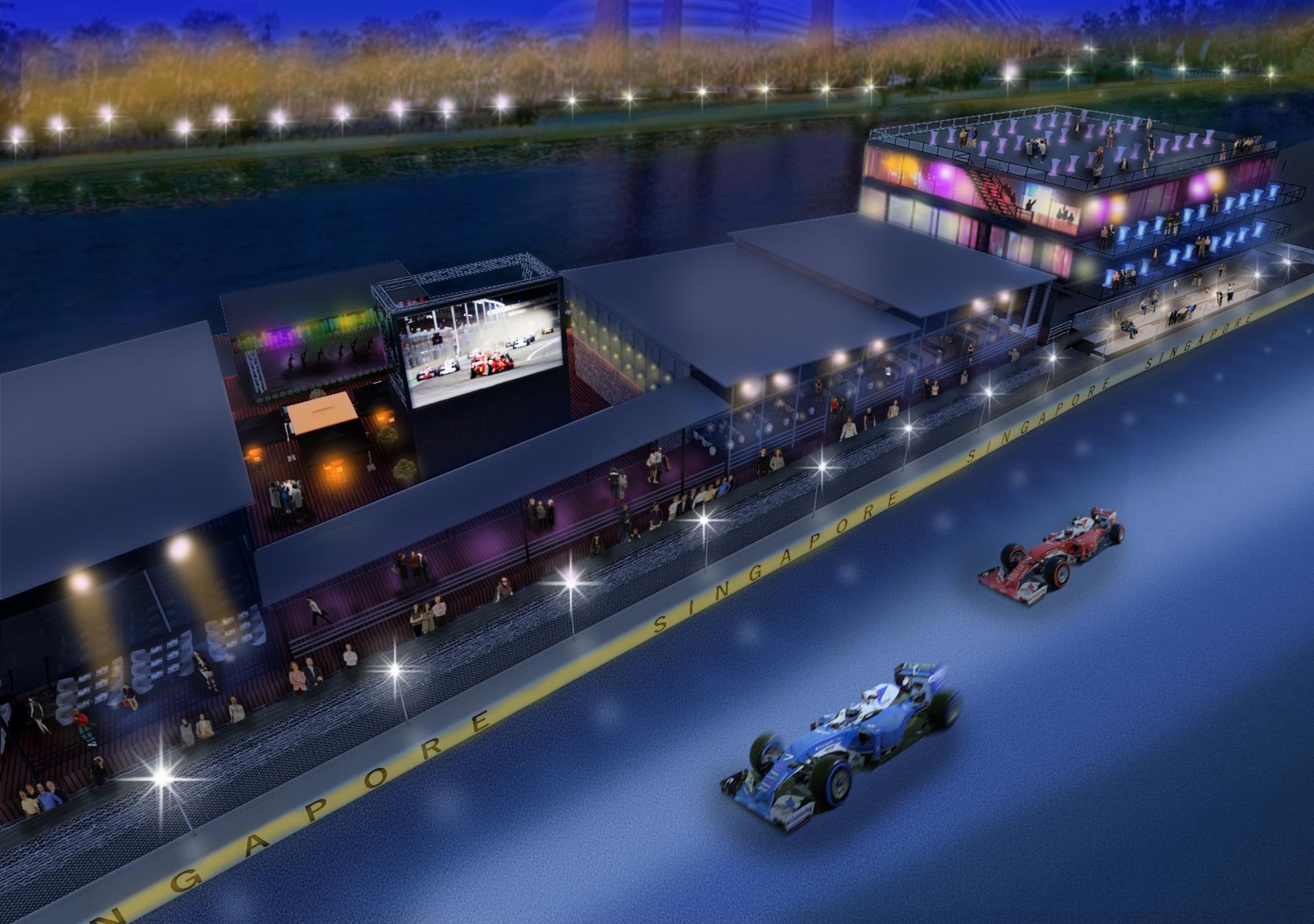 Singapore Grand Prix Sky Suite