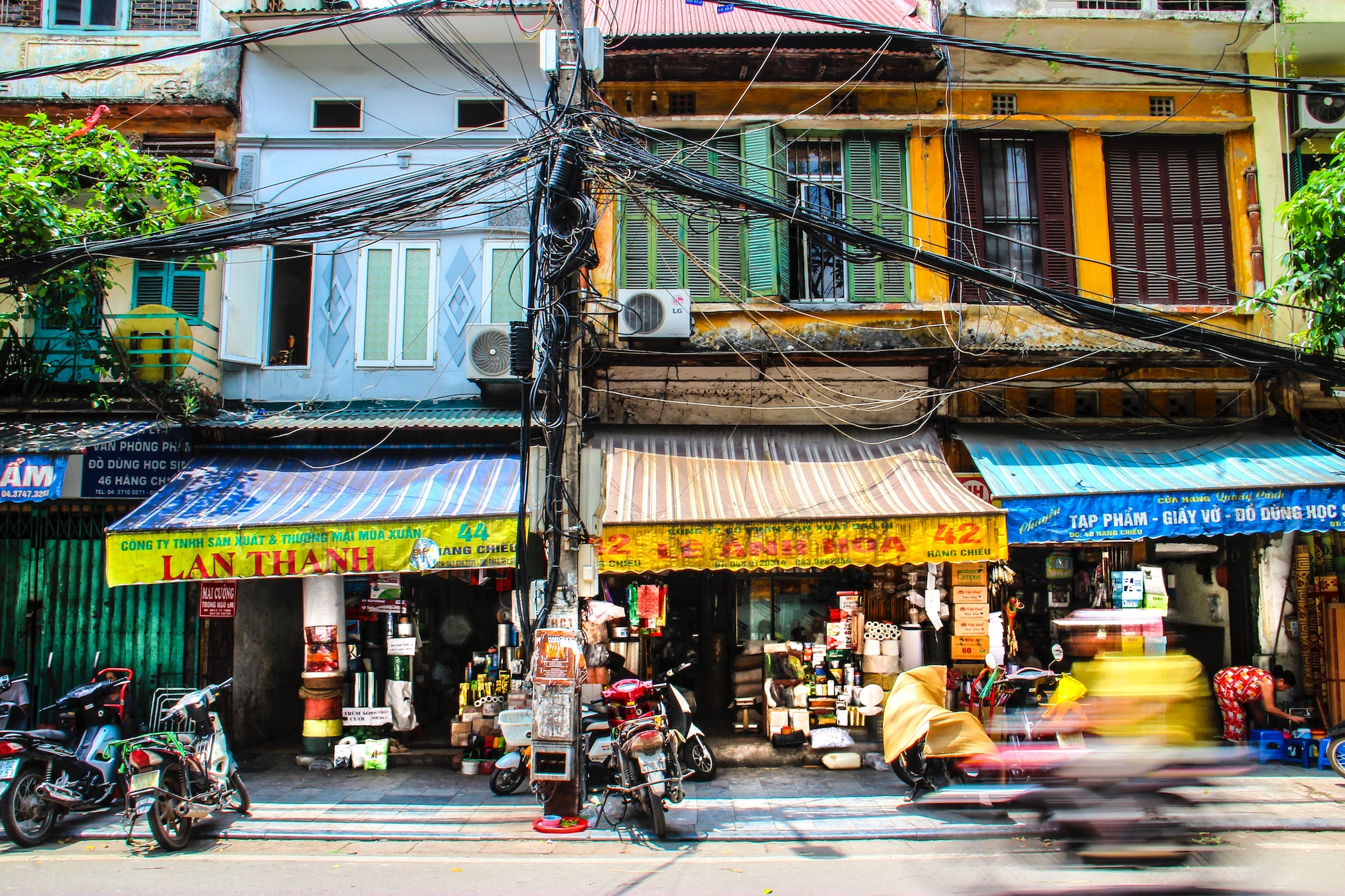 Southeast Asian destinations: Hanoi